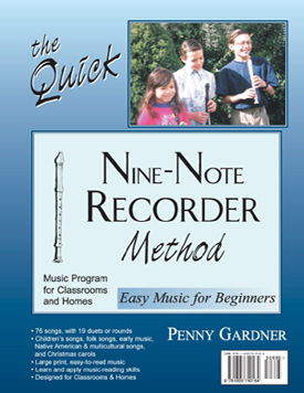 teacher created Recorder Method for music programs