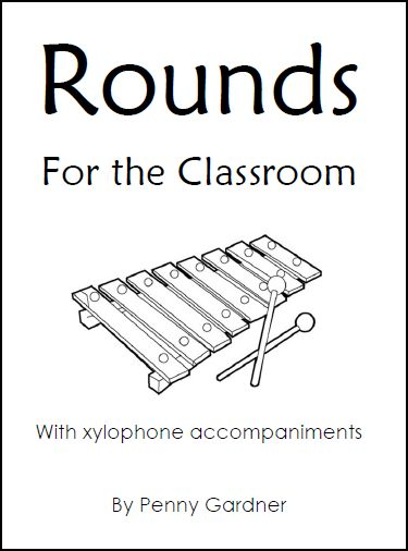 rounds for general music sample pages
