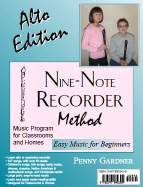 beginner book for sopranino and alto recorder